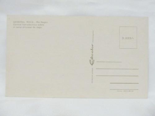 el arcon tarjeta postal foto de general roca rio negro