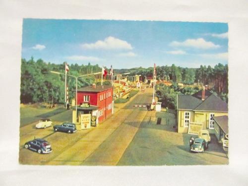 el arcon tarjeta postal foto de heimstedt zonengrenze