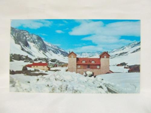 el arcon tarjeta postal foto de mendoza - las cuevas