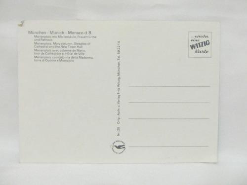 el arcon tarjeta postal foto de munich alemania