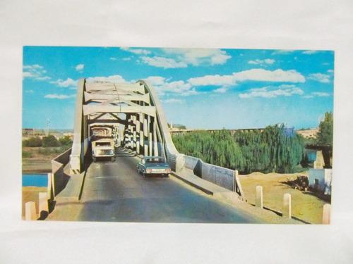 el arcon tarjeta postal foto de neuquen puente carretero