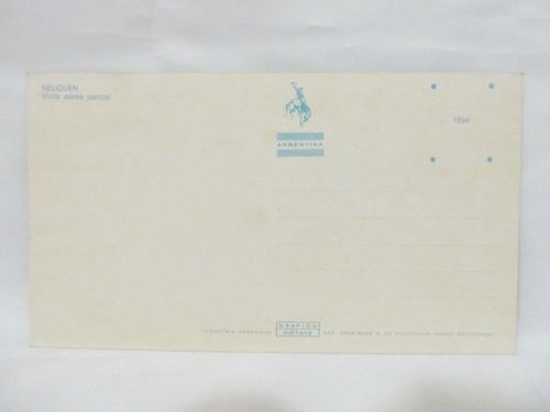 el arcon tarjeta postal foto de neuquen vista aerea parcial