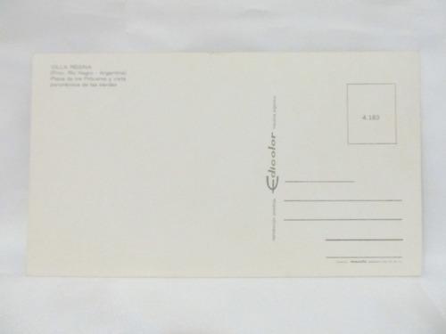 el arcon tarjeta postal foto de villa regina rio negro plaza