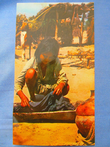 el arcon tarjeta postal foto  indiecita toba  431 01