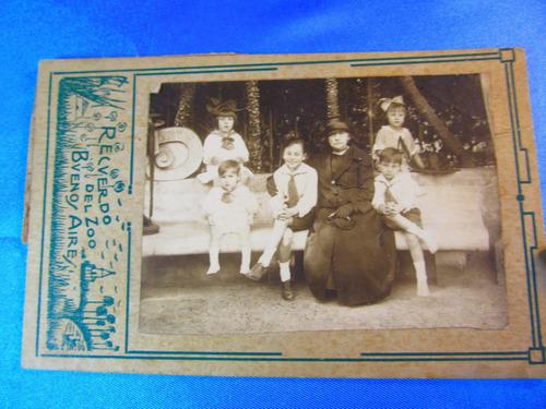 el arcon tarjeta postal jardin zoologico bs as   15049 14