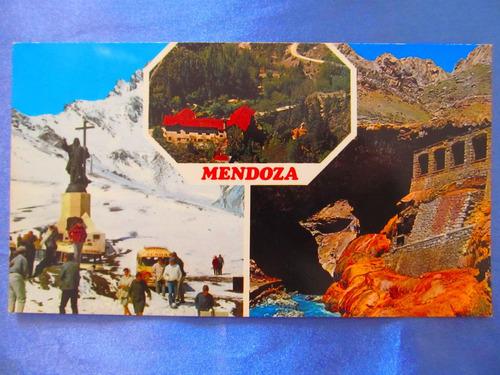 el arcon tarjeta postal mendoza puente del inca 431 14