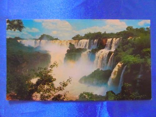 el arcon tarjeta postal misiones cataratas 43119