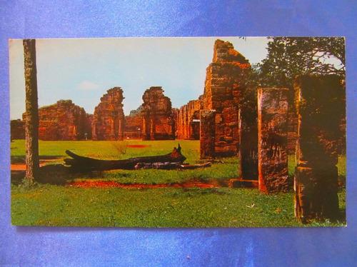 el arcon tarjeta postal misiones ruinas de s. ignacio 43119