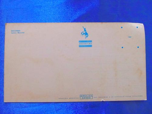 el arcon tarjeta postal misiones saltos mocona 43119