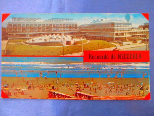 el arcon tarjeta postal necochea casino y playa  431 12