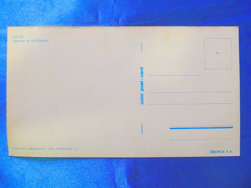 el arcon tarjeta postal salta la catedral 43122