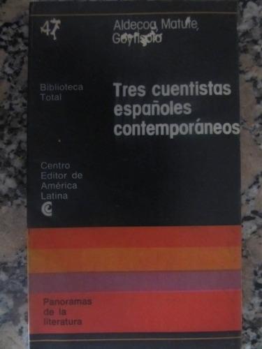 el arcon tres cuentistas españoles contemporáneos