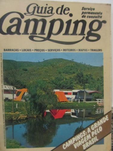 el arcon turismo guia de camping de brasil