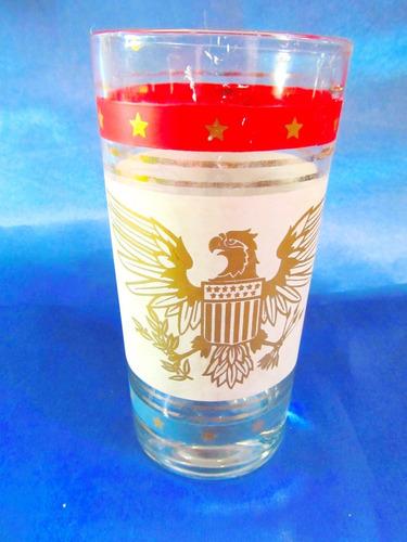 el arcon  vaso aleman de decorado en tonos rojos 14cm 565
