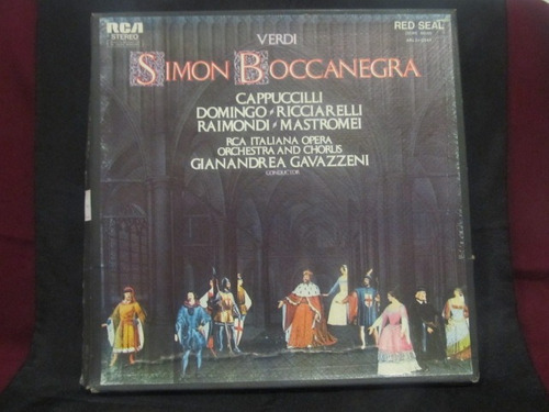 el arcon verdi opera simon boccanegra box set 3 lp