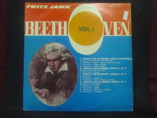 el arcon vinilo lp fritz jank - beethoven