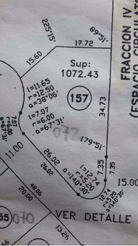 el aromo - lote de 1072 metros cuadrados