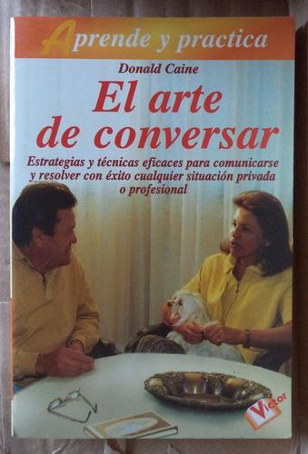 el arte de conversar donald caine cpx030