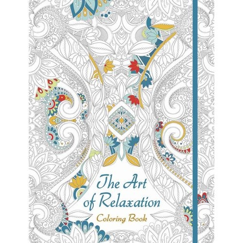 El Arte De La Relajación Para Colorear Libro - $ 101.111 en Mercado ...