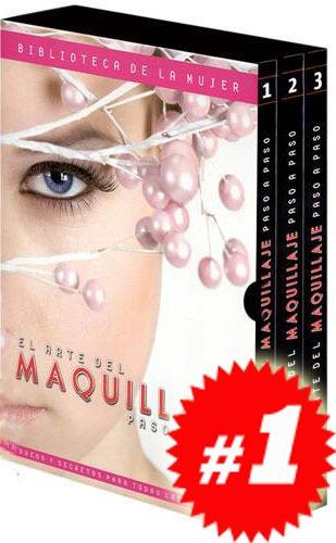 el arte del maquillaje paso a paso 3 vols + 1 cd rom
