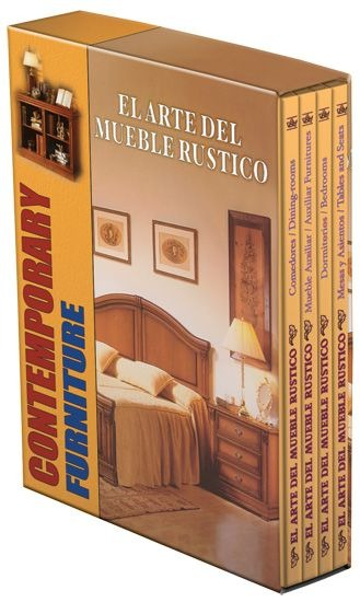 El arte del mueble r stico 4 vols daly 1 en for El factory del mueble