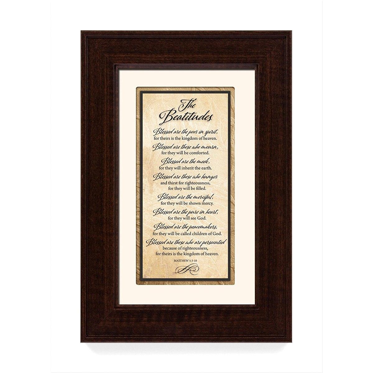 El Arte Enmarcado De Las Tradiciones De Las Beatitudes - $ 134.999 ...