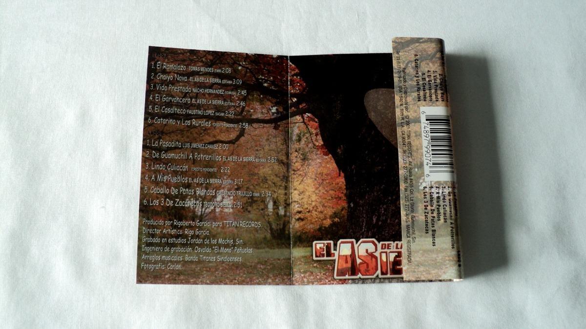 8c9f921514 El As De La Sierra El Ramalazo Cassette 2001 Titan Records -   60.00 ...