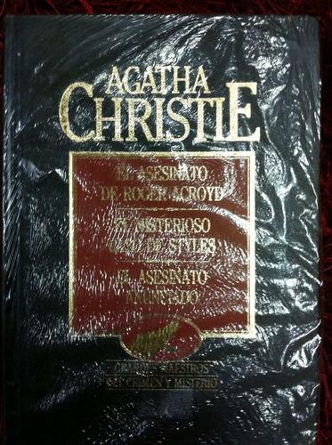 el asesinato de roger acroyd- agatha christie- volumen 6