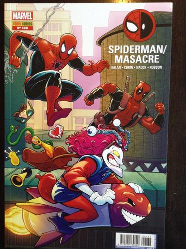 el asombroso spiderman 138. spiderman / masacre deadpool