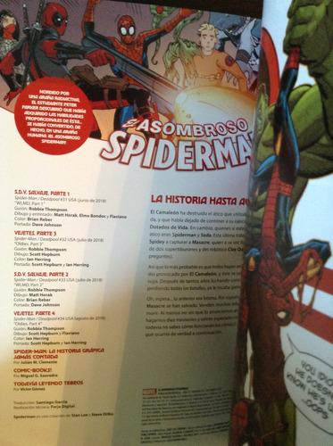 el asombroso spiderman 147. spiderman vs. masacre deadpool