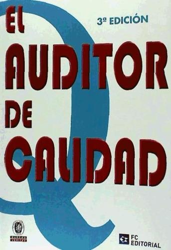 el auditor de calidad(libro auditoria)