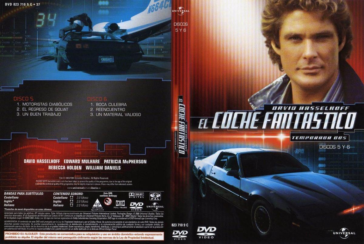 El Auto Fantástico Dvd Serie 15 000 00 En Mercado Libre