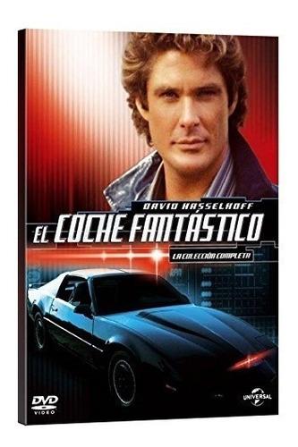 el auto fantastico - serie completa - dvd