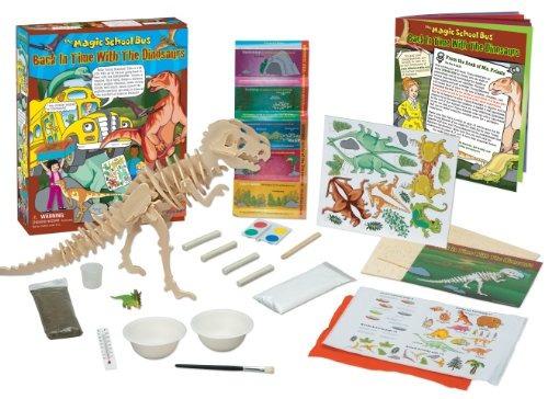 el autobús escolar mágico: en el tiempo con los dinosaurios