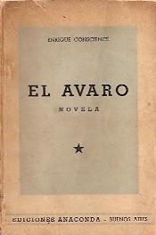 el avaro - conscience, enrique - ediciones anaconda - 1943