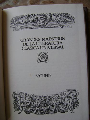 el avaro/tartufo/enfermo imaginario/don juan- moliere- 1986