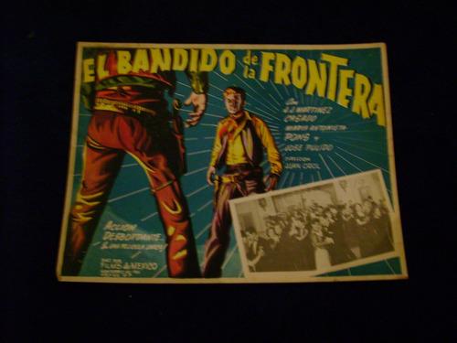 el bandido de la frontera maria antonieta pons cartel 31.10.