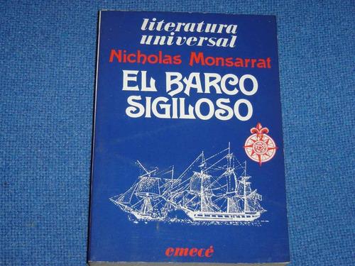 el barco sigiloso - nicholas monsarrat
