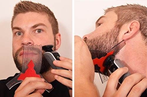 el barn ninja - barba que forma la plantilla de la herramien