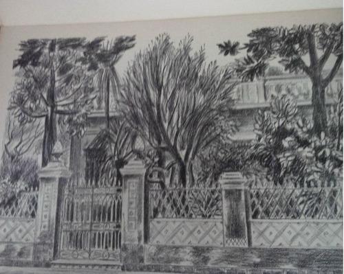 el barrio de belgrano * litografias originales antonio juan