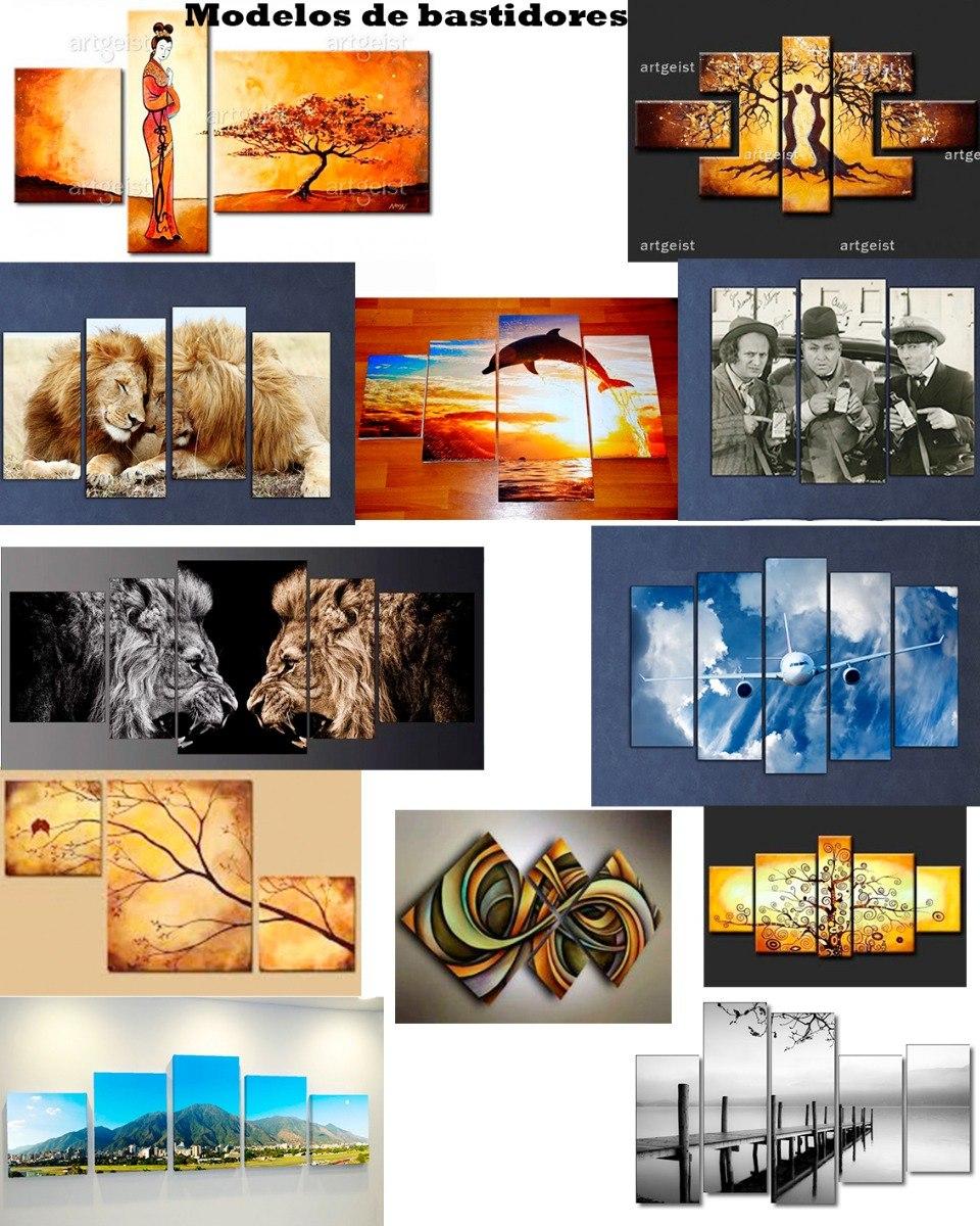 El Beso Klimt Cuadro Bastidor 120x80cm +kit+envios+muestras ...