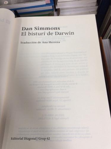 el bisturí de darwin,dan simmons