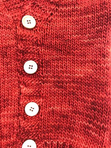 el bosque de robles -cardigan de lana merino