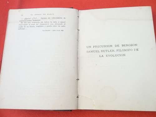 el burro de maruf y otros ensayos arturo cancela 1925