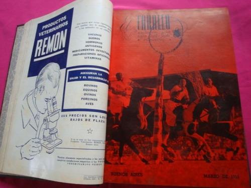 el caballo año 1955 lote de revistas en tomo polo turf pato