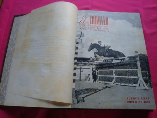 el caballo año 1956 lote de revistas en tomo - olimpiadas