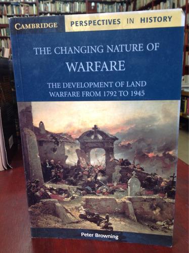 el cambio natural de la guerra. peter browning. en inglésing