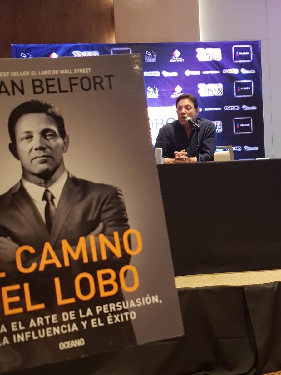 jordan belfort libro  El Camino Del Lobo - Jordan Belfort ** Libro Autografiado ...