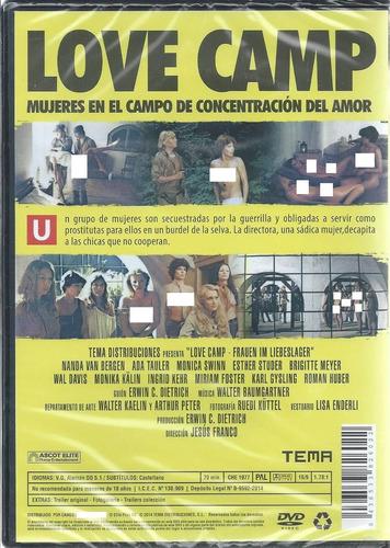 el campamento del amor-love camp- dvd importado envío gratis