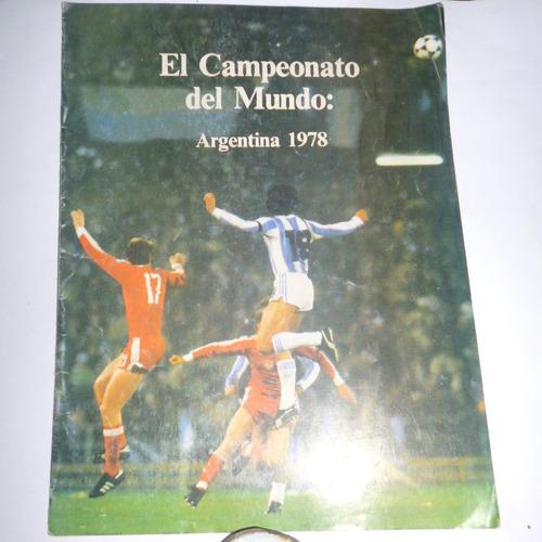 el campeonato del mundo argentina 1978 revista oficial